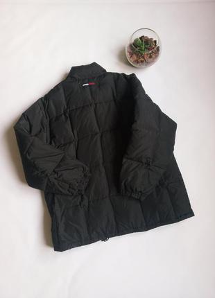 Зимняя винтажная куртка пуховик парка tommy hilfiger