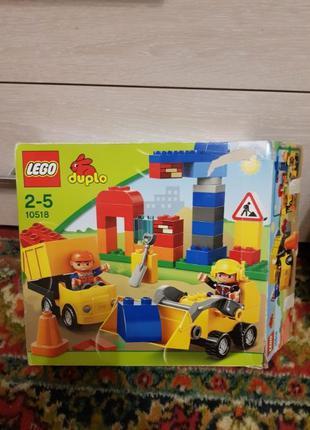 Lego duplo моя первая стройка 10518