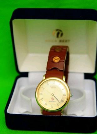 Часы Nuga best со швейцарским механизмом и турманиевым браслетом
