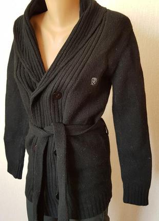 Шикарний кардиган- пальто. 100%шерсть