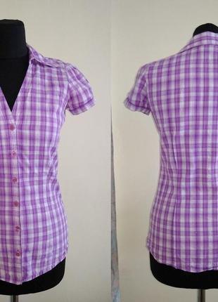 Блуза с коротким рукавом S