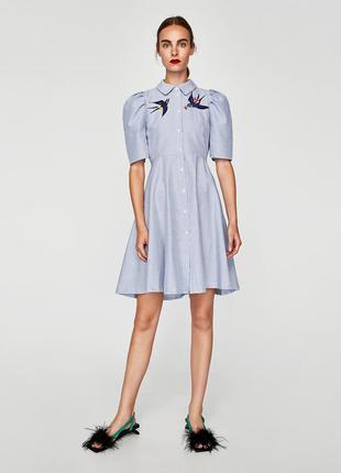 Новое с биркой платье zara