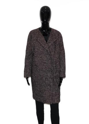 Классное итальянское пальто в стиле оверсайз