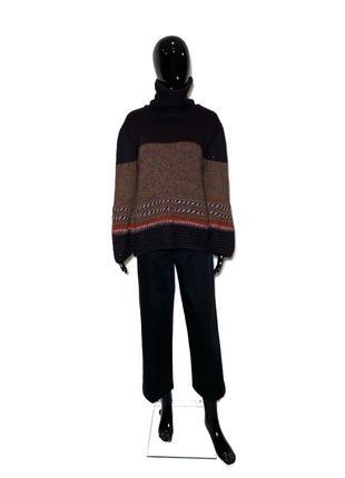 Отличный шерстяной свитер в стиле missoni