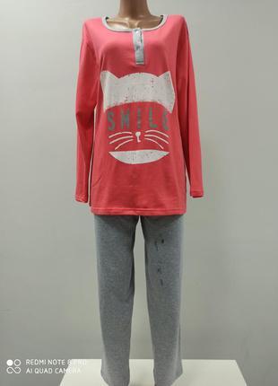 Пижама женская тёплая хлопок 100%