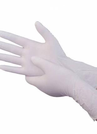 Перчатки медицинские PVC Размер M L 100 шт
