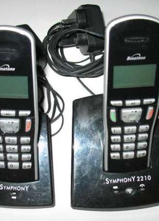 Binatone Symphony 2210 TWIN Беспроводной телефон с автоответчиком