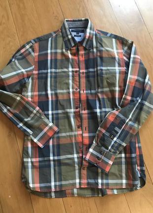 Супер рубашка известного бренда Tommy Hilfiger