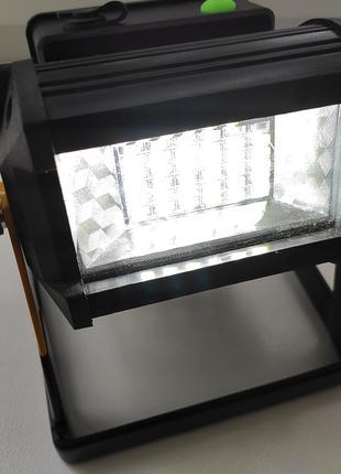 LED прожектор на аккумуляторах 18650, аварийный автосвет, дом