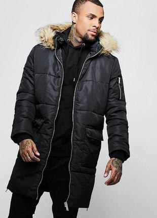 Стильное мужское пальто boohoo man