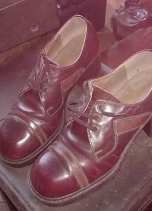 Туфли концертные для танца