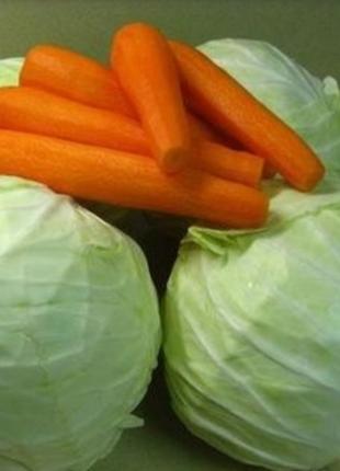Капуста та морква
