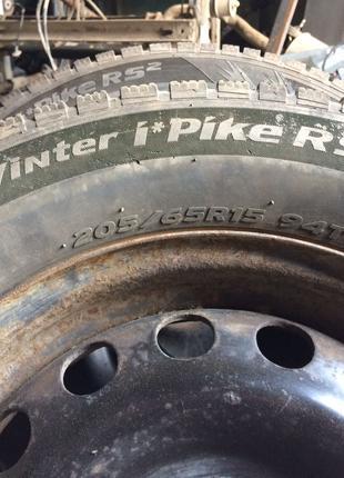 Шини R15 205/65 94T зимові авто шини Р15 205/65 зимние hankook