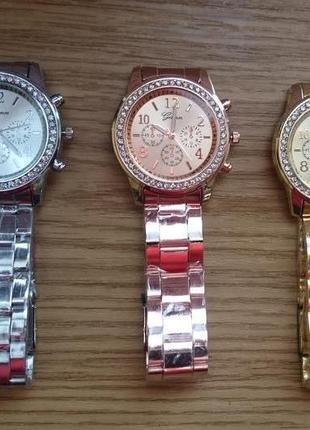 Женские наручные часы Geneva Женева 3 цвета