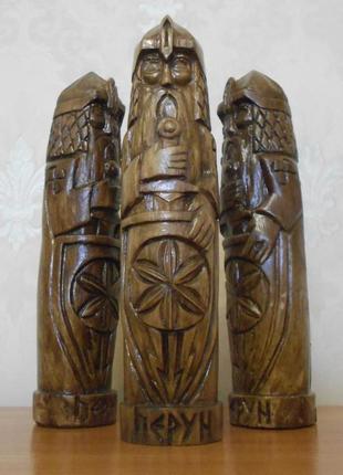 Перун- Кумир, Чур, славянский Бог. Оберег хранитель воителю.