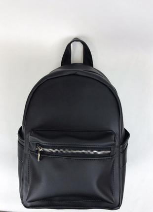 Женский черный рюкзак для спортзала/ черная пятница скидка