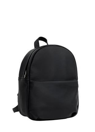 Женский черный портфель для учебы