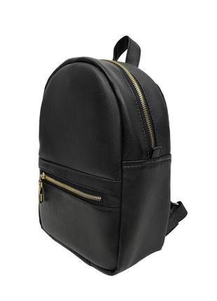 Женский черный портфель для учебы, экокожа