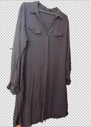 Трендовая рубашка, туника, платье