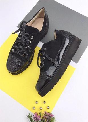Итальянские замшевые туфли franca