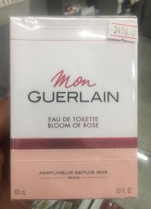 Туалетна вода для жінок guerlain mon guerlain bloom of rose 10...