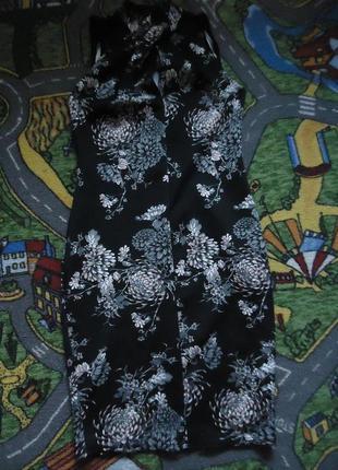 Платье футляр в цветочный принт
