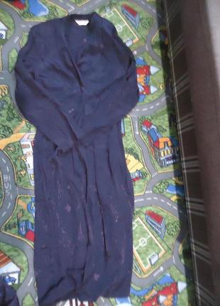Шикарный набор. накидка и брюки для дома 100% вискоза