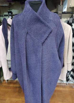 Кофта пальто большого размера