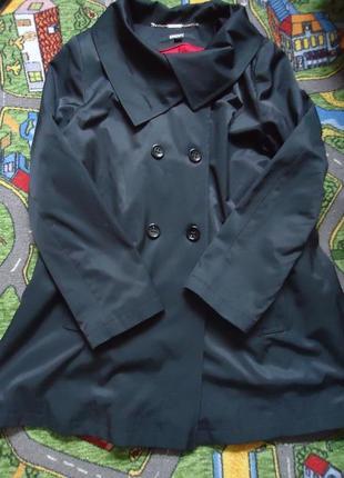 Стильный тренч, фирменное пальто плащ