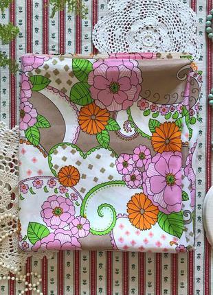 Отрез ткани ткань в цветы