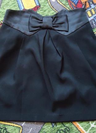 Стильная юбка с бантиком