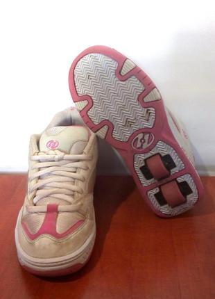 Роликовые кроссовки на колёсиках / ролики heelys, сша, р.37-38...