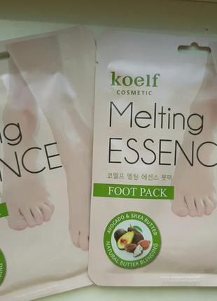Маска-носочки для ног с маслами и экстрактами petitfee koelf m...