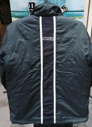 Куртка парка зима утеплена protech