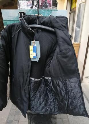 Спайдер парка куртка довга зима утепленна