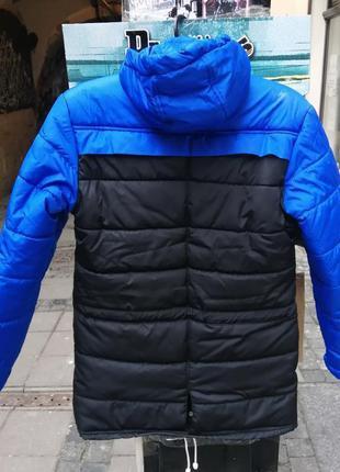 Пуховик зима утепленний довгий ястреб куртка парка тарас зима ...