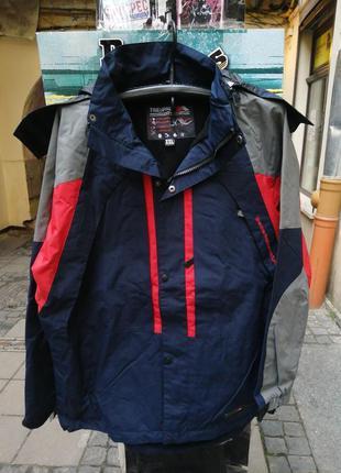 Парка термо куртка термо зима  водовідштовхувальна  trespass