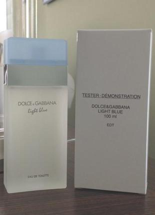 Dolce&gabbana light blue,100 мл,парфюмированная вода,оригинал