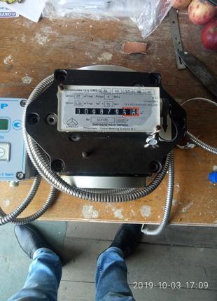 счeтчик газа, газовий лічильник