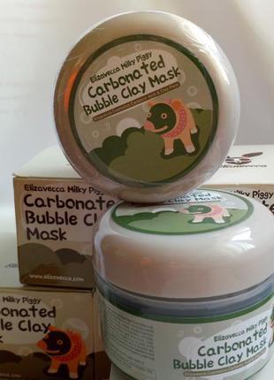 Кооея,elizavecca carbonated bubble clay mask ,,пузырьковая маска