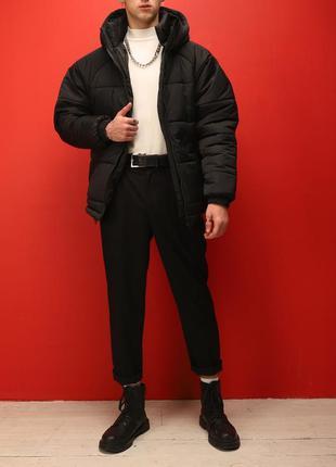 Зимняя молодежная куртка ( короткая ) от -5 до -20.