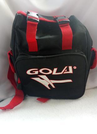 Gola,британия, рюкзак из водоотталкивающей ткани