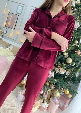 Пижама велюр