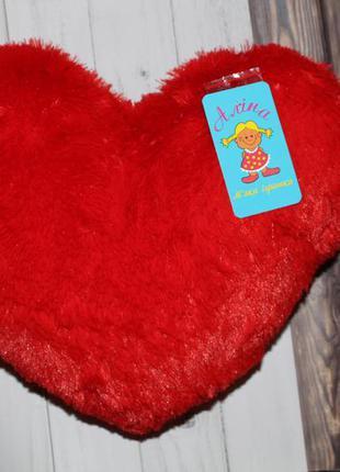 Мягкая игрушка, подушка сердце, 37 см