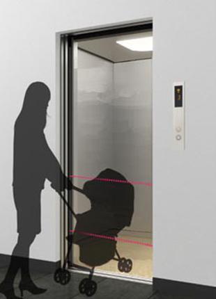Фотоэлементы безопасности для автоматических дверей лифта