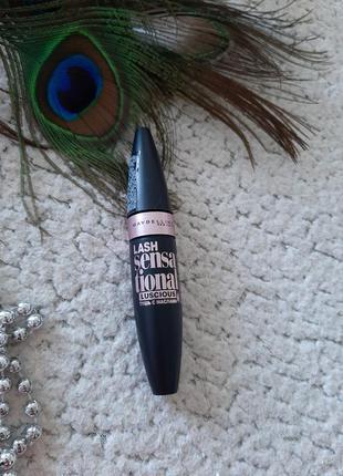 Тушь для ресниц maybelline lash sensational с маслами