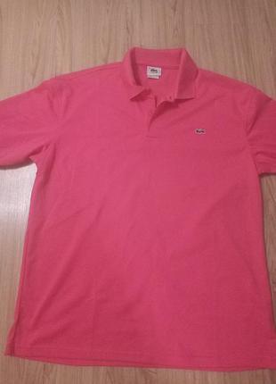 Стильная футболка#lacoste#,мужская lacoste