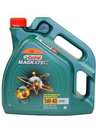 Масло моторное Castrol Magnatec A3 B4 5W-40, 4 л