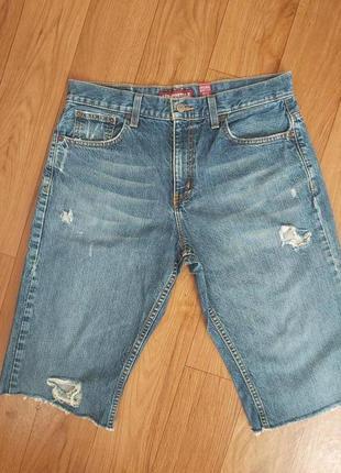 Мужские обрезные джинсы,капри ,aeropostale