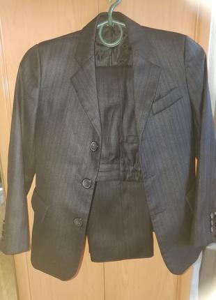 Школьный костюм чёрный 2 - 3 класс